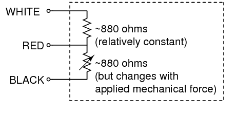 three wire strain gauge schematic