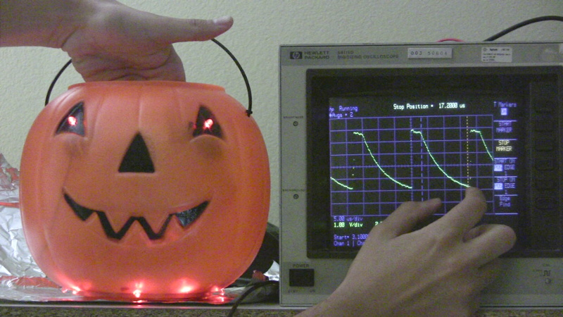 NerdKits - Capacitive Touch Sensor: Learn Electronics with a Spooky ...